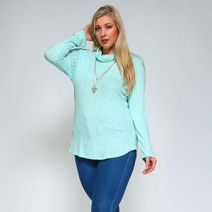 Sweaters - Aqua Plus Size Sweater